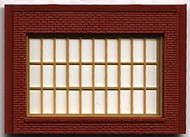 DPM Design Preservation Models HO Scale Modular System One-Story Steel Sash Window (4 Pieces) - 30175