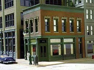 DPM Design Preservation Models HO Scale Kit Carol's Corner Cafe - 11300