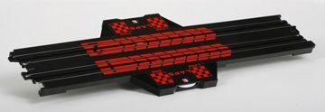 AFX 15 Inch Straight Lap Counter HO Scale Slot Car Track - 8646