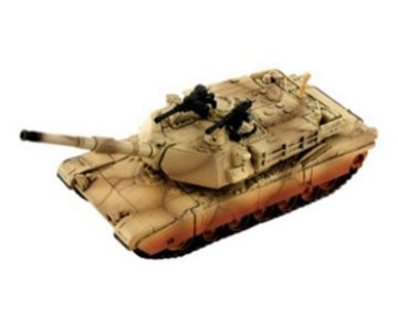 4D Vision 1/90 M1A1 Abrams (Desert Camouflage) Tank Snap Model Kit - 26326
