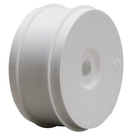 Team Losi 1/8 Buggy Dish Wheel, White (4) ~ A7750