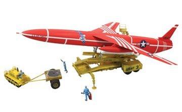 Lindberg 1/48 Snark Intercontinental Guided Missile Military Model Kit - 91001