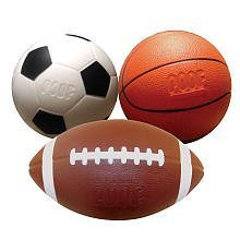 POOF Football, Soccer, Basketball Mini Sport Pack - 453