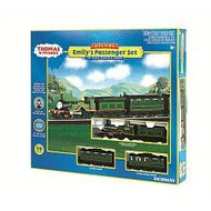 Bachmann HO Scale Thomas & Friends Emily's Passenger Train Set - 00684