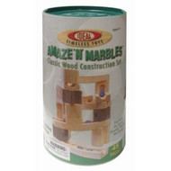 Ideal Toys Amaze N Marbles in Canister (45 pieces) - 4745