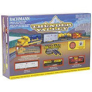 Bachmann N Scale Thunder Valley Train Set (Santa Fe) - 24013
