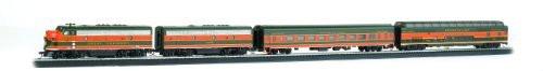 Bachmann HO Scale Empire Builder Train Set - 00667