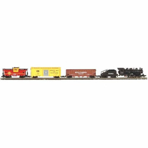 Bachmann N Scale The Yard Boss Train Set (Santa Fe) - 24014