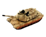 4D Vision 1/90 M1A2 Abrams (Desert Colors) Tank Snap Model Kit - 26324