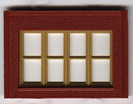 DPM Design Preservation Models HO Scale Modular System One-Story Victorian Window (4 Pieces) - 30147