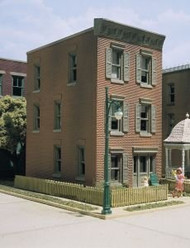 DPM Design Preservation Models HO Scale Kit Townhouse #3 - 11100