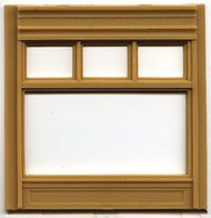 DPM Design Preservation Models HO Scale Modular System Street Level 20th Century Window (4 Pieces) - 30162