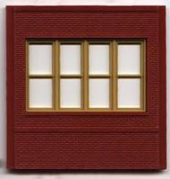 DPM Design Preservation Models HO Scale Modular System Dock Level Victorian Window (4 Pieces) - 30143