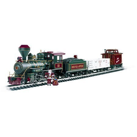 Bachmann G Scale Night Before Christmas Train Set (North Pole & Southern) - 90037