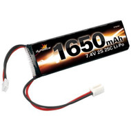 Dynamite 7.4V 1650mAh 2S 25C LiPo Battery: MS, MLM, 18T - 1427 ^