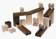 Ideal Toys Amaze N Marbles Construction Set (60 pieces) - 4600M
