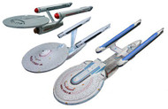 AMT 1/2500 Star Trek Enterprise Starship Snap Together Model Kit Set - 660
