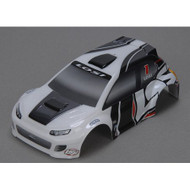 Losi 1/24 4WD Rally Painted Body, Gray ~ B1786