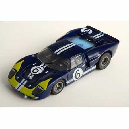 Afx Srt Clear Gt40 6 Andretti Collectors Series Ho Scale Slot Car