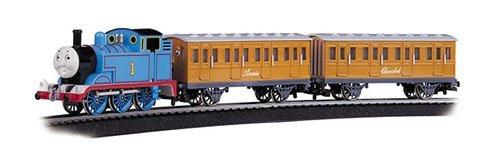 Bachmann G Scale Thomas & Friends Thomas with Annie & Clarabel Train Set - 90068