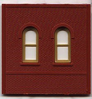 DPM Design Preservation Models HO Scale Modular System Dock Level Arch Window (4 Pieces) - 30103