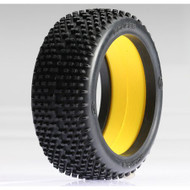 Team Losi 1/8 Eclipse Buggy Tire w/Foam, Silver (2) ~ A7769S
