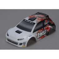 Losi 1/24 4WD Rally Painted Body, Red ~ B1788