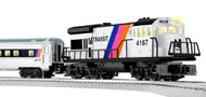 Lionel O Scale Ready-to-Run Limited Edition Historic Series New Jersey Transit Passenger Train Set - 630169