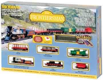 Bachmann N Scale The Frontiersman Train Set (Central Pacific) - 24006