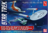 AMT 1/2500 Star Trek Motion TOS Era Ship Set Snap Together Model Kit - 763
