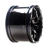 Losi 320S Force Wheel, Black Chrome (2) ~ B7014