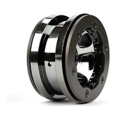 Losi 2.2 Bdlck Wheels, Ring & Hardware, Black Chrome(2) ~ A7021