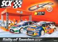 SCX 1/32 Analog System C3 Rally of Sweden Slot Car Set - A10096X5U0 (A10096X500)