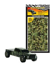 PineCar Derby Racers Custom Body Skin Camouflage - 3978