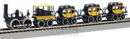 Bachmann HO Scale The DeWitt Clinton Train Set - 00641
