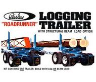 AMT 1/25 Peerless Logging Trailer Model Kit - 628