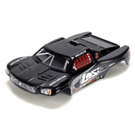 Losi 1/24 4WD Short Course Painted Body, Black ~ B1781