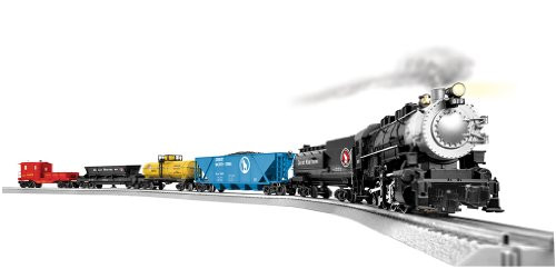 Lionel O Scale Ready-to-Run Great Northern Mountain Mover 0-8-0 Steam Locomotive Train Set - 631746