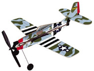 Gayla P-47 Thunderbolt Rubberband Powered Plane - 738