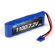 Losi 7.2V 1100mAh NiMH Battery w/EC2 long: Mini 8 ~ B1209