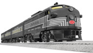 Lionel O Scale Ready-to-Run New York Grand Central Express with Railsounds FT Diesel Passenger Train Set - 630195