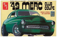 AMT 1/25 1949 Mercury Club Coupe Car Model Kit - 654