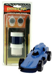 PineCar Derby Racers Complete Paint System Cool Blue - 3955 ^