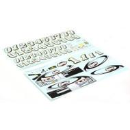 Losi Mini-Sprint BND Graphic Sticker Set ~ B1338