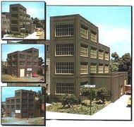DPM Design Preservation Models HO Scale Modular System Designer Bulk Pack Steel Sash Industrial Building - 36500