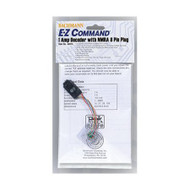 Bachmann E-Z Command 1 Amp Locomotive Decoder with NMRA 8-Pin Plug (1 Piece) - 44915