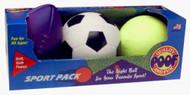 POOF Football, Soccer, Basketball Sport Pack - 930