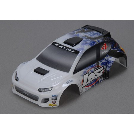 Losi 1/24 4WD Rally Painted Body, Blue ~ B1789