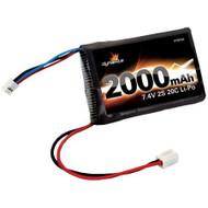 Dynamite 7.4V 2000mAh 2S 20C LiPo Battery: Mini-T, Mini-LST2 - 1426 ^