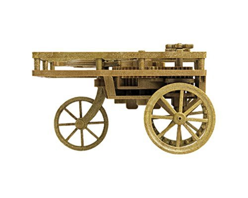 Academy Leonardo da Vinci Self-Propelling Cart Model Kit - 18129